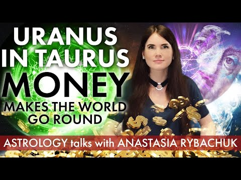 Uranus in Taurus | Astrology Talks with Anastasia Rybachuk