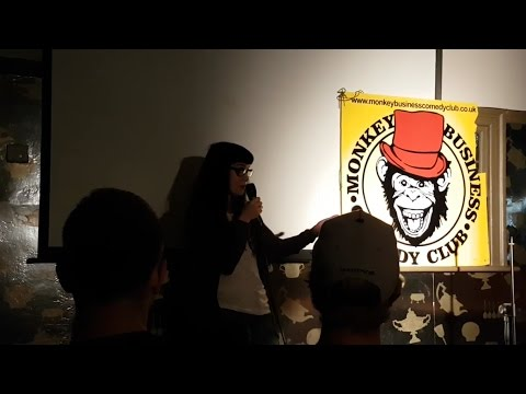 Anastasia Rybachuk - 'No titties song' | Monkey Business, London 2016